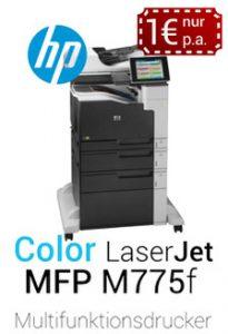 hp laserjet mfp m775f produktdetails